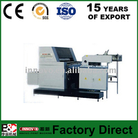 Single Color Sheetfed Offset Printing Machine used offset printing machine