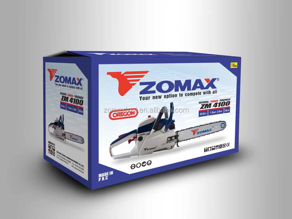 Zomax Chainsaw Zmc4203 Portable Wood Cutting Machine Agricultural ...