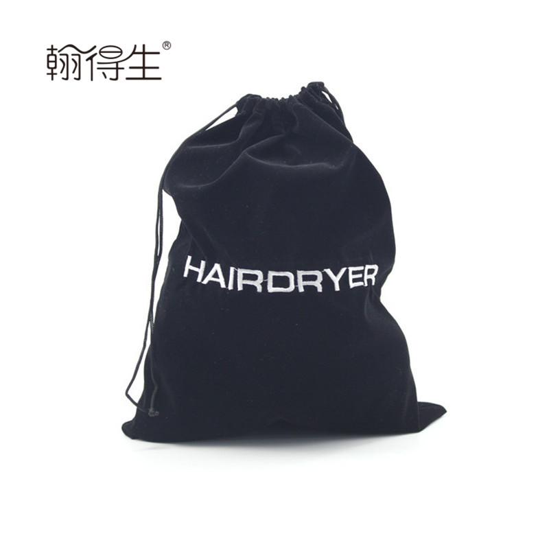 wholesale poly twill drawstring hairdryer bag