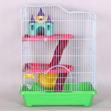 Super Deluxe Version Hamster Cage Three Transparent Villa Package Pet Supplies Small Cage Wholesale