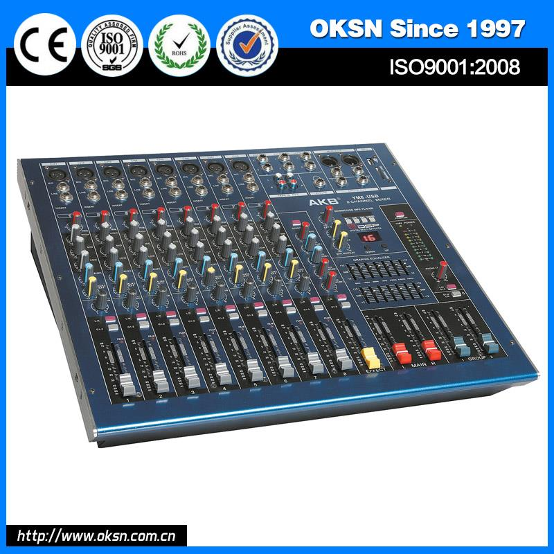 Hot selling YM6USB usb digital audio video mixer made in China