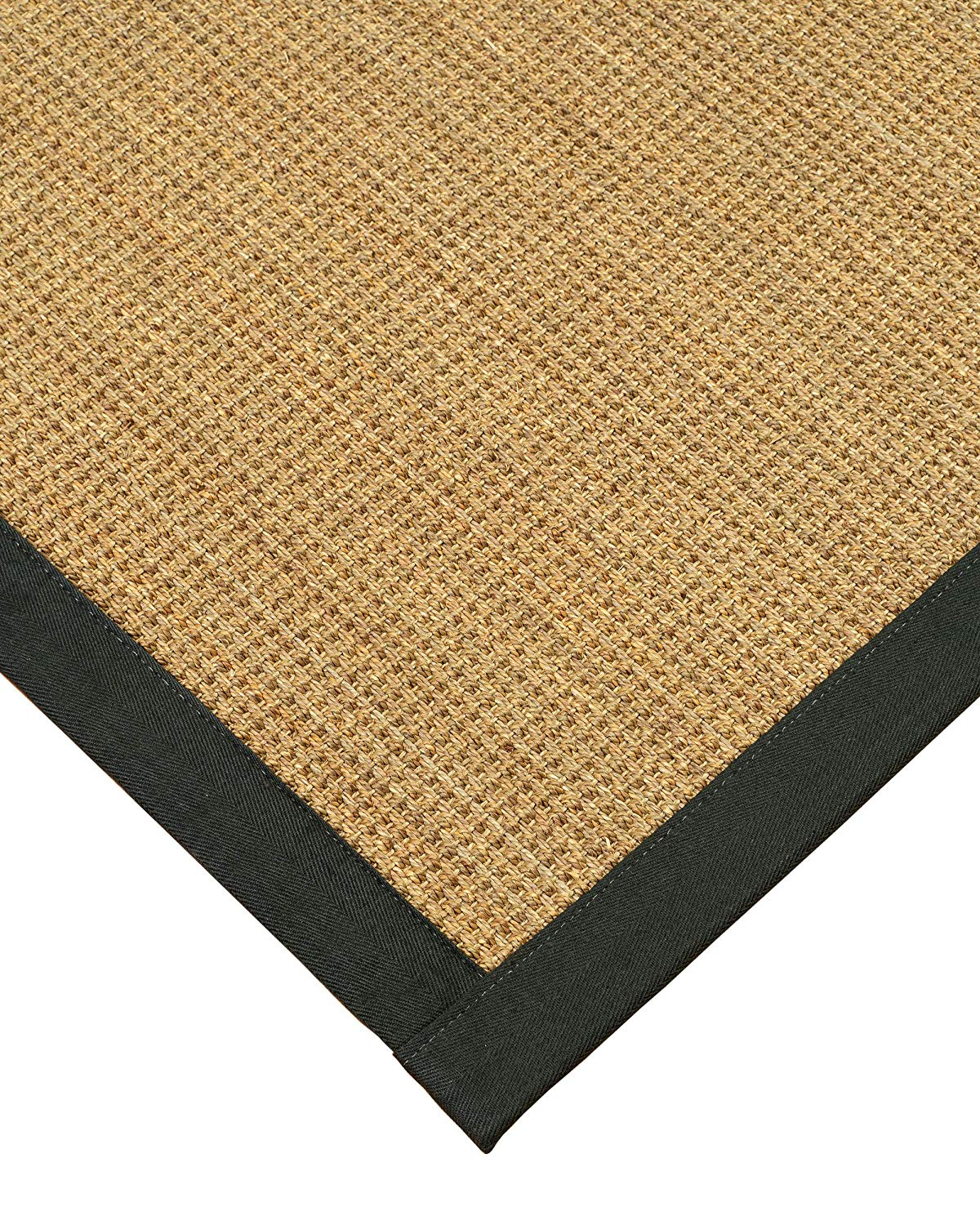 Get Quotations Hamptons Seagr Runner Rug With Extra Wide Binding Moss 31 Inches X 13