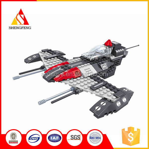 diy now model Toys Building Blocks for space fighter boy best gift