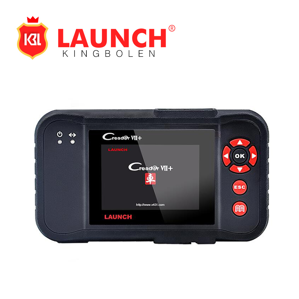 [Launch Distributor] Launch X431 Creader VII+ 7 Plus OBDII EOBD Electronic Control System ABS SRS Tool Equal To Launch CRP123