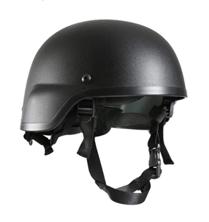 Military ABS Plastic MICH-2000 Style Helmet in Black, KHAKI AND OD GREEN anit riot no level or NIJ IIIA and different levels