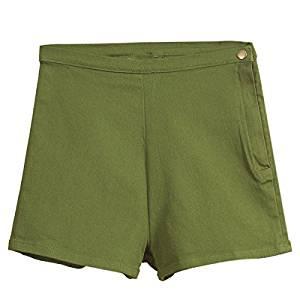 c171ed28ac Get Quotations · Woman's Denim Shorts - TOOGOO(R)Woman's Summer High Waist  Denim Shorts Slim Ripped