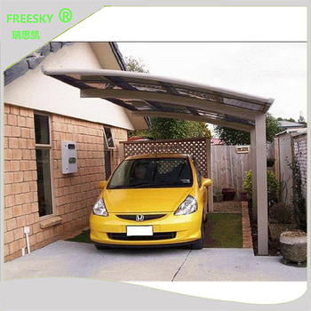 Outdoor Rain Car Shelter Aluminum Portable Canopy Car Port ...