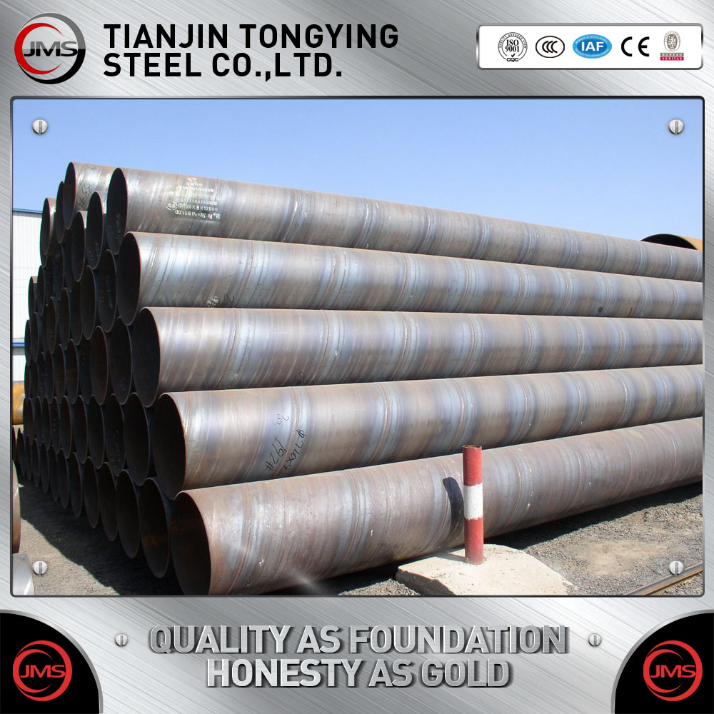 OD 219mm to 1220mm Large Diameter Thin Wall SSAW/SAW/DSAW/LSAW/Spiral Welded Low Carbon Steel Q235 Pipe