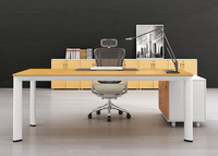 China manufacturer modern MFC metal office executive ceo desk