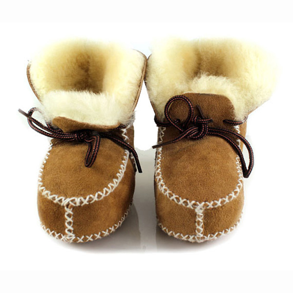 27e16869f2641 Get Quotations · Baby Prewalker Snow Boots Shoes Girl 100% Genuine Fur Shoes  Baby Boy First Walkers Infant