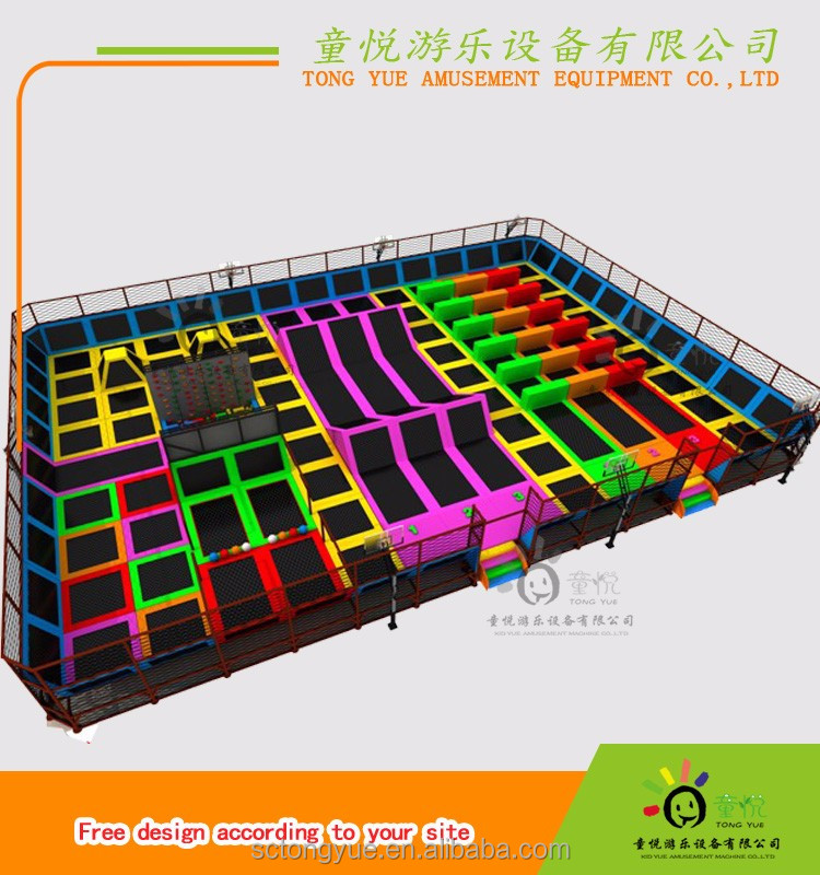 Happy Kid biggest jump zone trampoline sale on line TY-15038