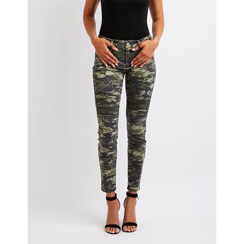 comprar popular 9312c 795c2 Camuflaje Moto Vaqueros Skinny Mujer 2018 Denim Pantalones - Buy Jeans Para  Mujer 2018 Denim,Jeans De Mezclilla,Vaqueros Al Por Mayor De Fábrica ...