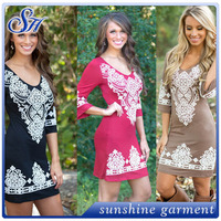 High Quality Fashion Formal Dress Plus Size Western Dress Elegant Dress For Women