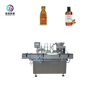 JB-YG4 Automatic oral liquid/ beverage/ milk/ pure water round bottle filling and capping machine