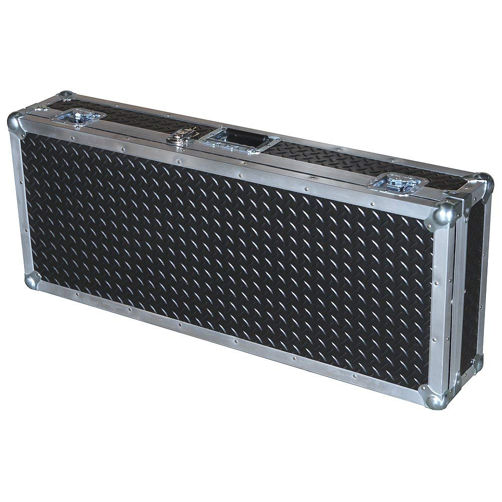 Keyboard 3/8 Ply Professional ATA Case with Diamond Plate Laminate Fits Roland V-combo Vr-09