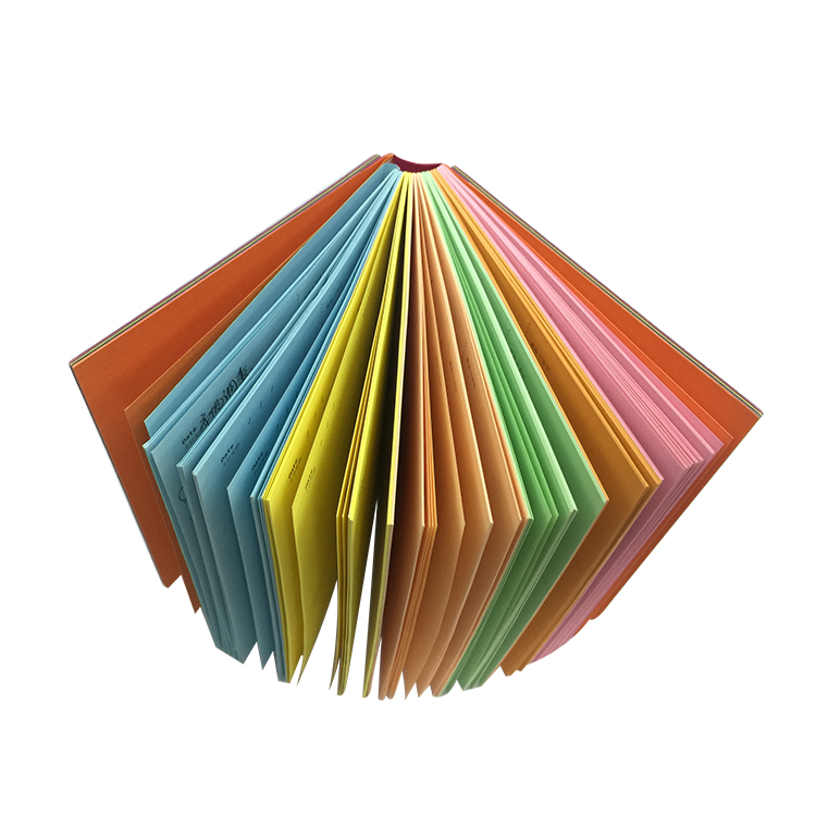 Manufacturer printing custom chromatic color school office exercise notebook