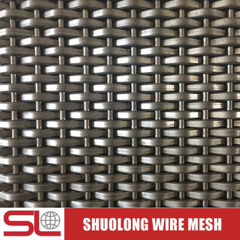 Shuolong Mesh Rigid Series XY-2053 Architectural Stainless Steel Mesh Screen for Elevators