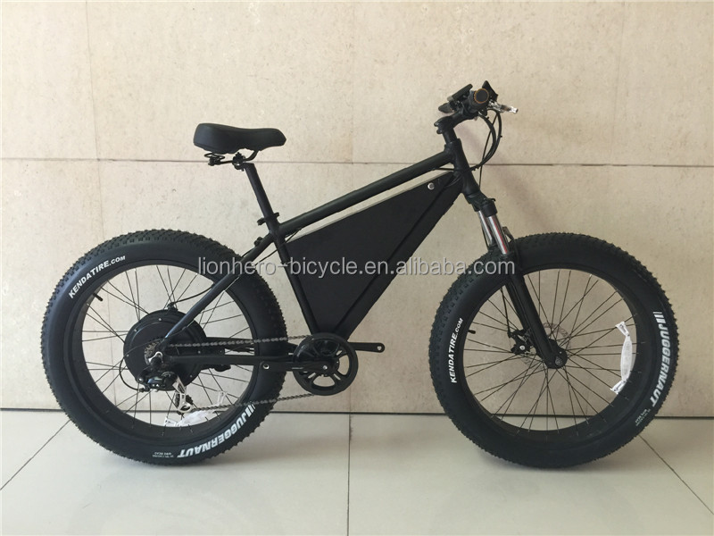 Latest professional 48V 3000W fast speed powerful Fat tire electric bike