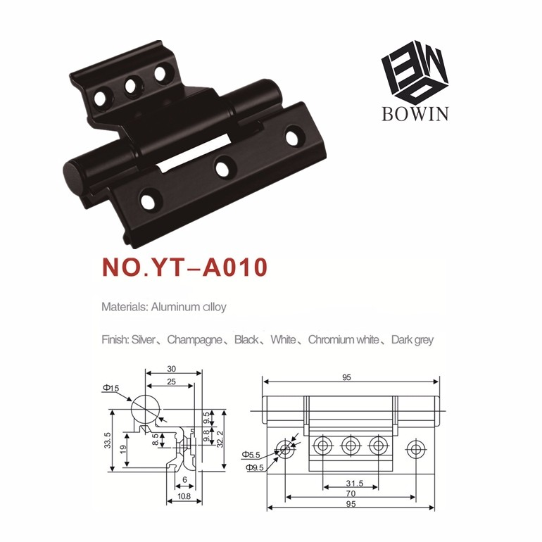 Manufacture Black Door Hinge Hinges Pakistan 3d Concealed Hinge
