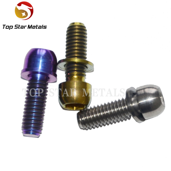 M6*18 Grade5 Titanium Bolts For Racing Motorbike Bicycle Headset Parts  Titanium Bicycle Accessories - Buy Grade5 Titanium Bolts,Titanium Bicycle