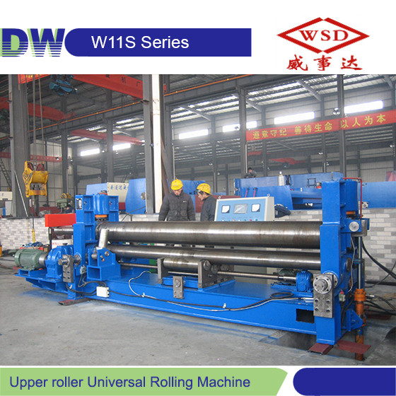 W11S-45*4000 Hydraulic Upper Roller Universal Rolling Machine roll heat transfer machine for cold rolled stainless