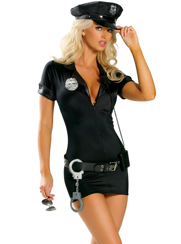 Photo of sexy police woman