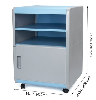 Storage Cabinet,mobile Filing Cabinet,plastic File Cabinet With Wheels And  Lock