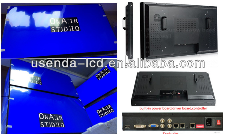 55inch High Quality Broadcast Tv Station Led\/lcd Video Wall ...