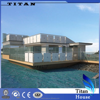 Light Steel Floating Restaurant for Sale