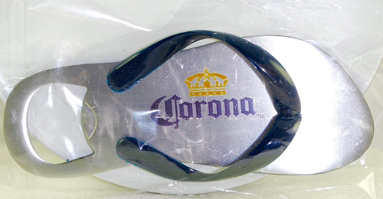 d6604cf900a Get Quotations · Corona Flip Flop Bottle Opener