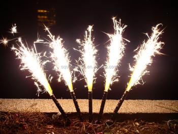 High Quality Safe Fireworks Silver Cake Fireworks Birthday