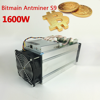 Factory Price Antminer S9 22nm Bitcoin Miner 14th S With Power Supply