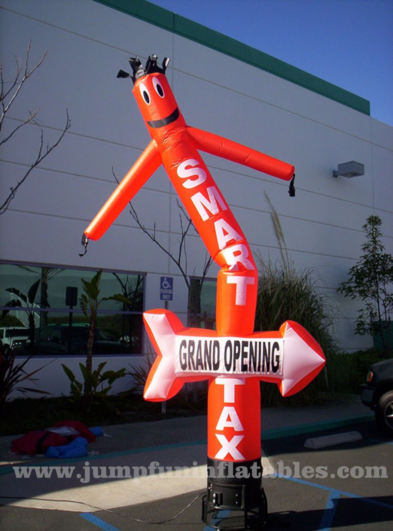 20ft Air Tube Cheap Inflatable Dancing Man 6m High Sky