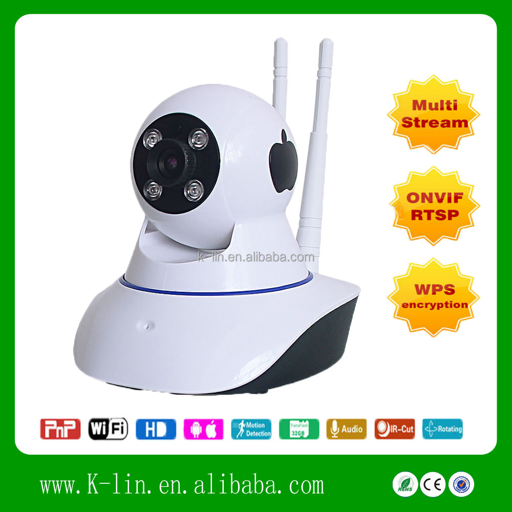 H.264 MP 720P HD OEM Support wifi Cam With IR-CUT
