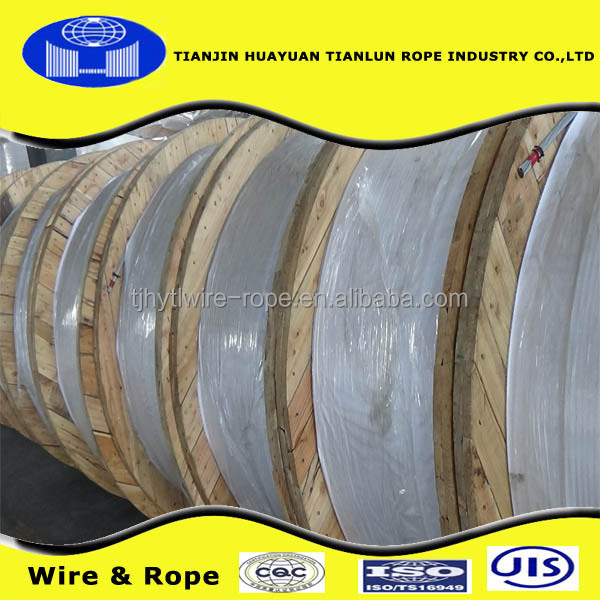 74mm/ wire rope 6*36ws+fc/ (tianjin huayuan 22 years factory)