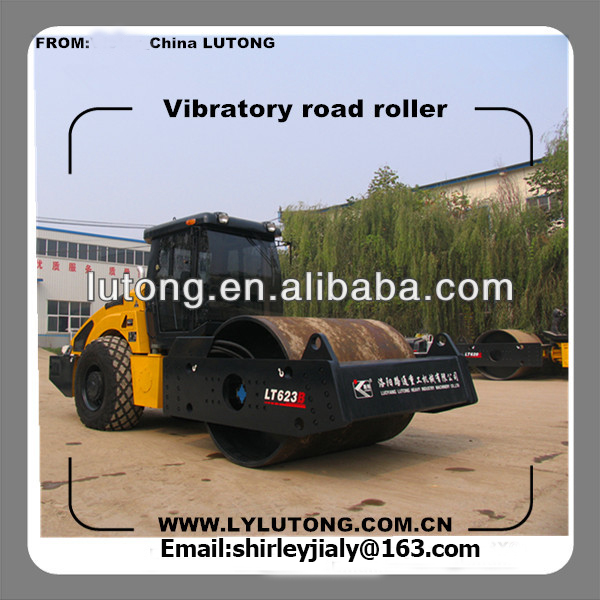 23ton super heavy-duty mechanical drive vibratory roller