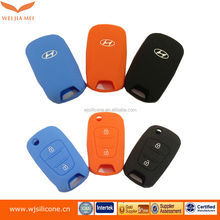Flexible soft silicone car key cover for mazda