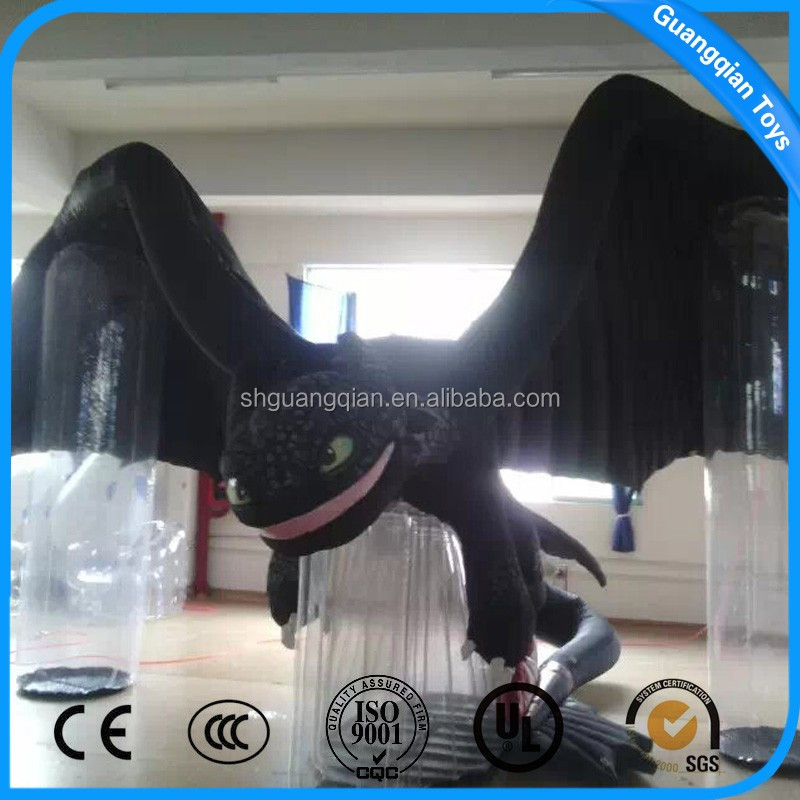 Guangqian Outdoor Giant Fly Dragon Inflatable Cartoon Characters For Best Quality