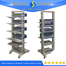 Mobile Rack with Four Wheels For 8-Channels battery analyzers in Laboratory