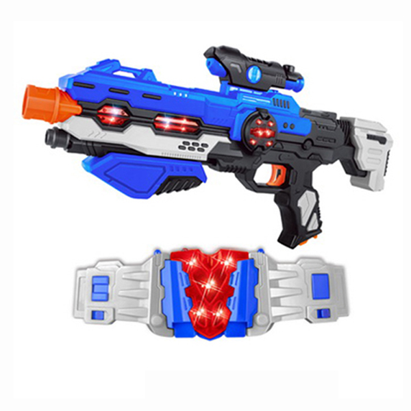 Hot sale nice design electric space children gun toy with light and music