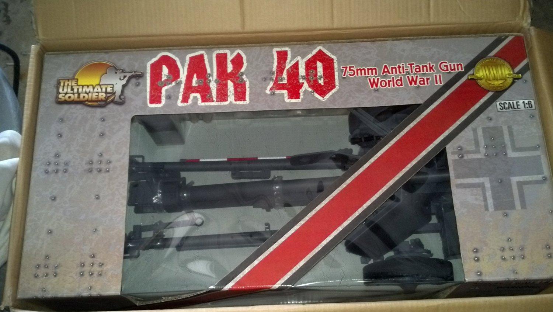 21st Century Toys Ultimate Soldier 1/6 Scale WWII German Pak 40 75MM Anti-Tank Gun