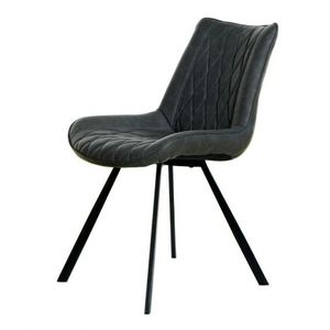 Free Sample Modern Tufted pu/leather Chair Restaurant Chair New High Back Dining Chair