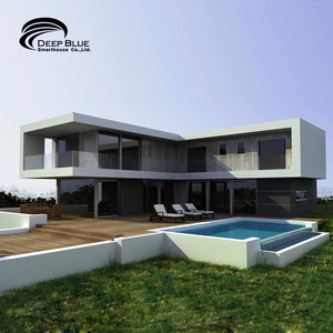South America architecturally designed prefab house steel frame house