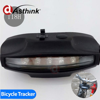 Bright LED,visible from the rear and sides google gps phone tracking Bright LED bicycle Tracker wholesale online