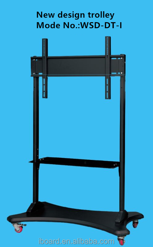 iBoard WSD-DT-I Touch monitor mobile trolley(OPTIONAL)