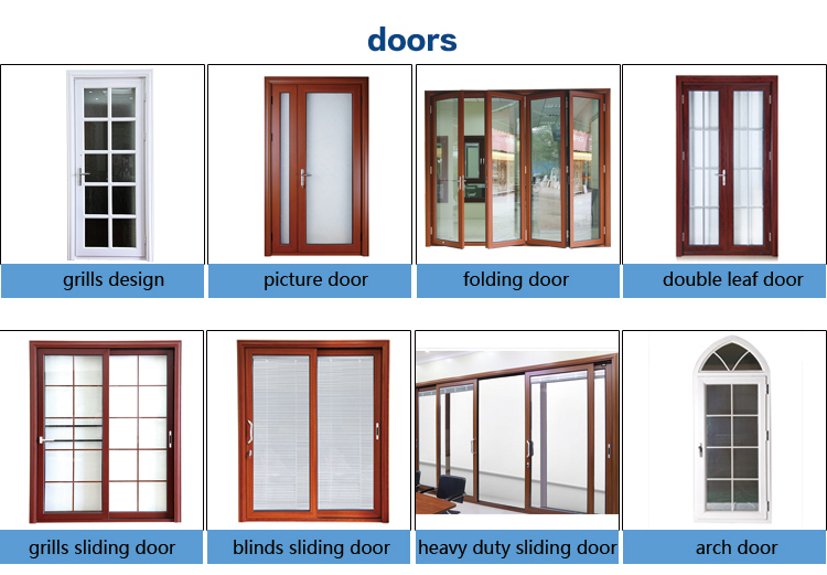 Rogenilan cheap folding exterior doors colors used for Cheap glass doors