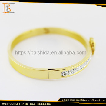 new gold bear shape bracelet models fine jewelry manufacturer china