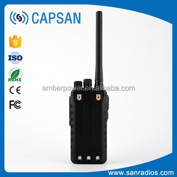 Wireless powerful dual Frequency full duplex dual band handheld radio