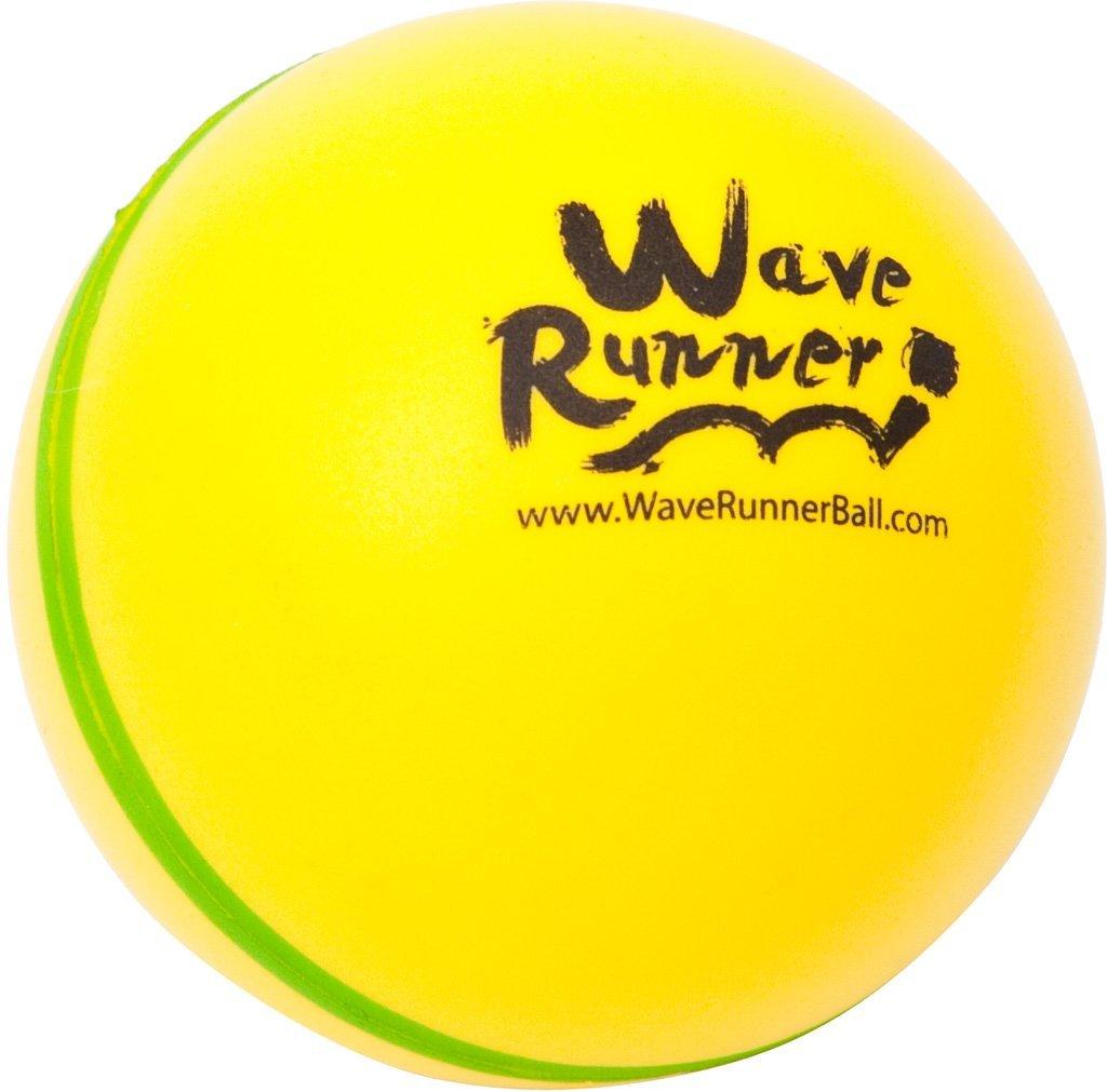 Throw It! Bounce It! Skip It! Catch It! WAVE RUNNER POOL BALL (yellow)