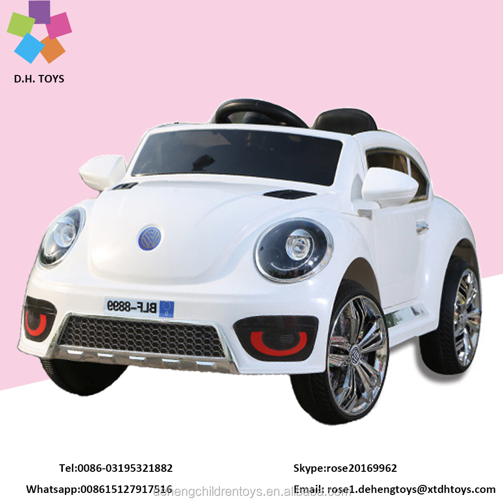 2017 Hot Sale VW Baby Car kids ride on Battery Operated toys car